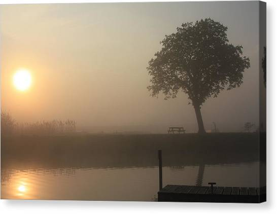 Morning Calm Canvas Print
