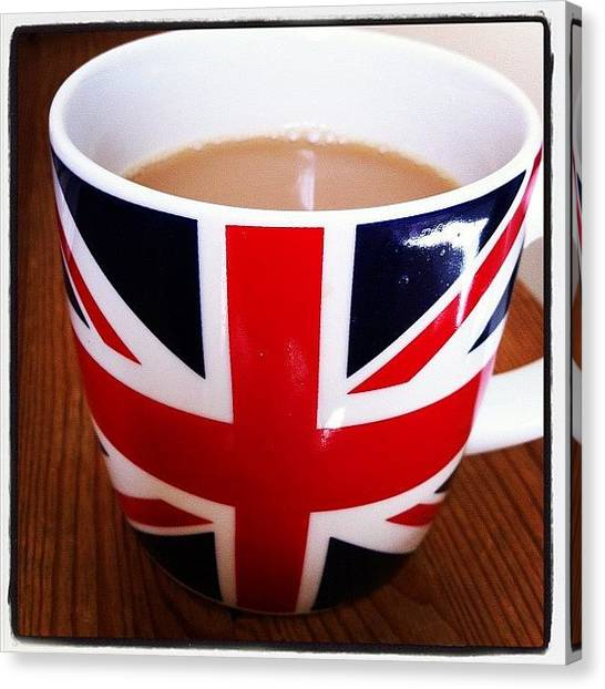 United Kingdom Canvas Print - Morning Cuppa by Tim Topping