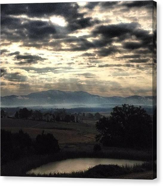 Solar Farms Canvas Print - Morning Incense by Sam Harris