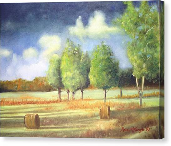 Morning Light Canvas Print by Max Mckenzie