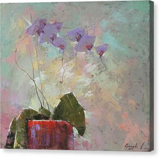 Morning Metamorphosis  Canvas Print