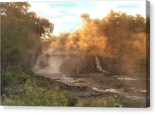 Morning Mist   1 Canvas Print