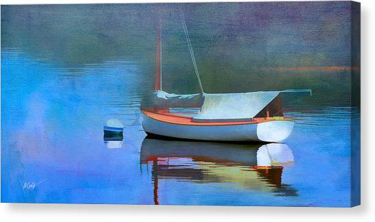 Morning Mist Canvas Print by Michael Petrizzo