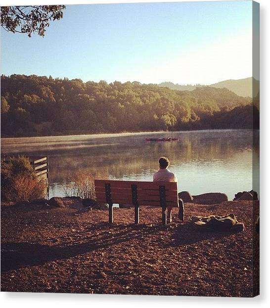 Wine Canvas Print - Morning Reflection by Eric Kent Wine Cellars