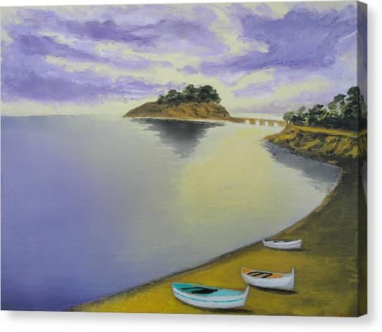 Morning Sea Canvas Print