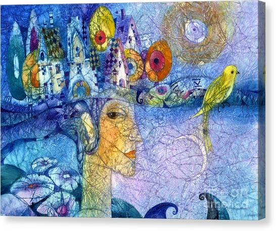 Morning Song Canvas Print by Svetlana and Sabir Gadghievs