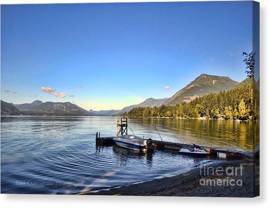 Mornings In British Columbia Canvas Print