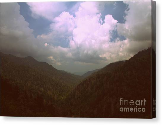 Morton Overlook Tennessee Canvas Print