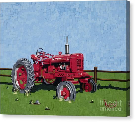 Mosaic Farms Canvas Print