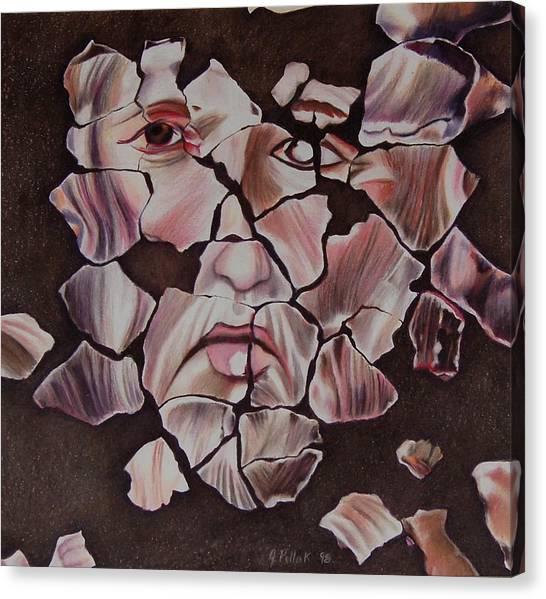 Mosaic Canvas Print by Joan Pollak