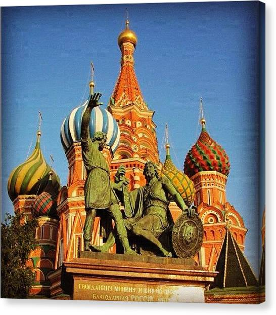 Russia Canvas Print - Moskva by Shayne Arcilla