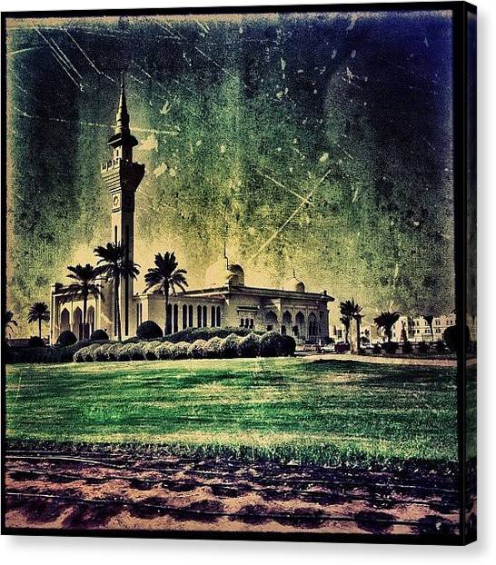 Islam Canvas Print - Mosque #iiphone #instagram by Roberto Pagani