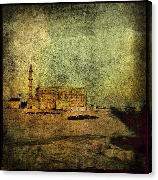 Islam Canvas Print - Mosque #islam #iiphone #instagram by Roberto Pagani