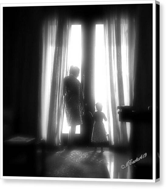Thanksgiving Canvas Print - Mother - Daughter Moment by Mary Carter