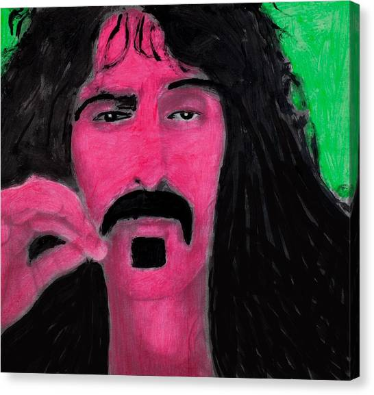 Frank Zappa Canvas Print - Mother Of Invention by Frank Strasser