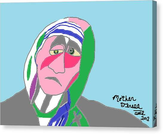 Mother Teresa Canvas Print