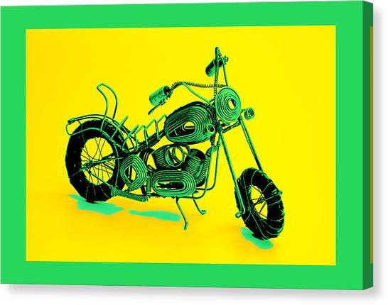 Motorbike 1b Canvas Print