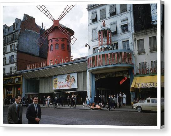 Moulin Rouge Canvas Print by Theo Bethel