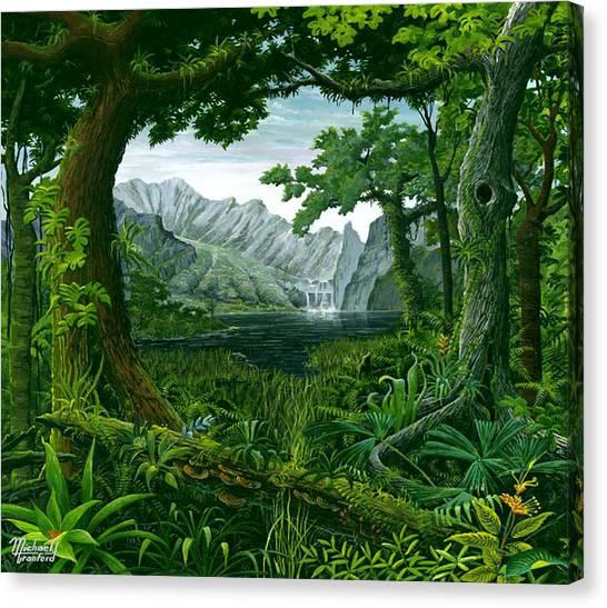 Mount Chirripo  Canvas Print
