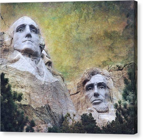 Mt. Rushmore Canvas Print - Mount Rushmore - My Impression by Jeff Burgess