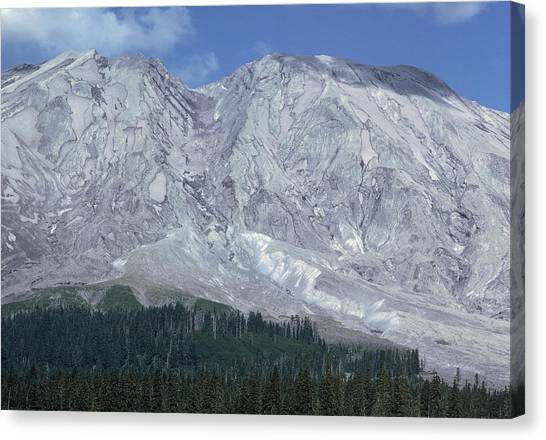 Mount St. Helens Canvas Print - Mount St Helens Volcano, Usa by Dr Juerg Alean