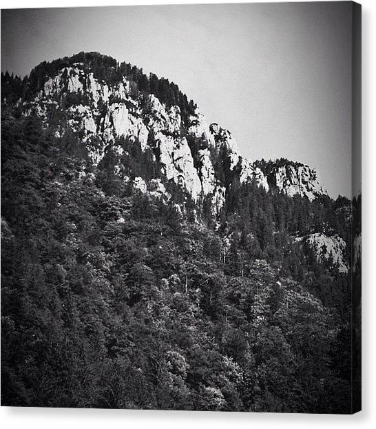 Wilderness Canvas Print - #mountain #mountains #sky #beautiful by Brandon L. Harris