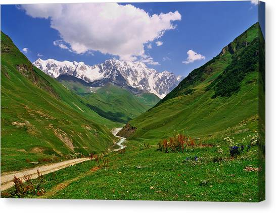 Mountain Valley Canvas Print