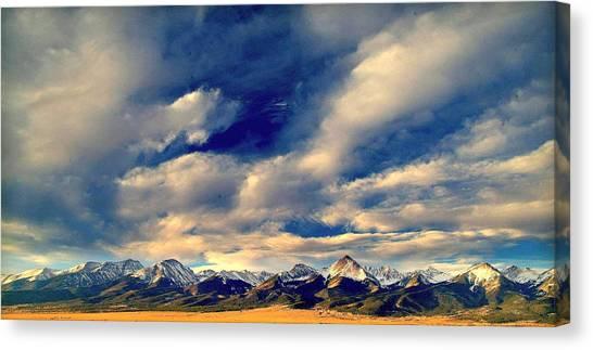 Mountain Wonder.. Canvas Print by Al  Swasey