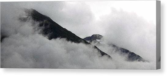Mountains To Touch The Sky Canvas Print