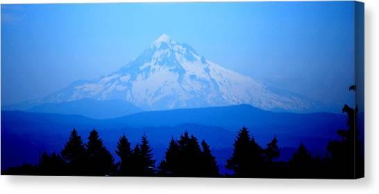 Mountian Blues Canvas Print