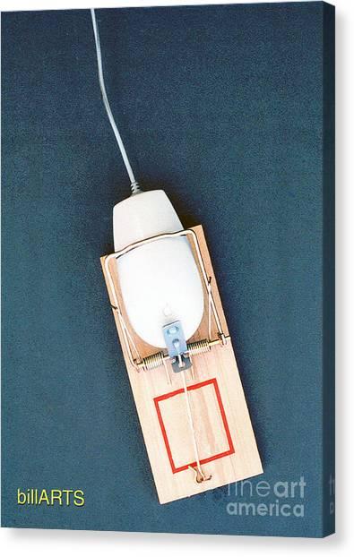 Mouse Trap Canvas Print