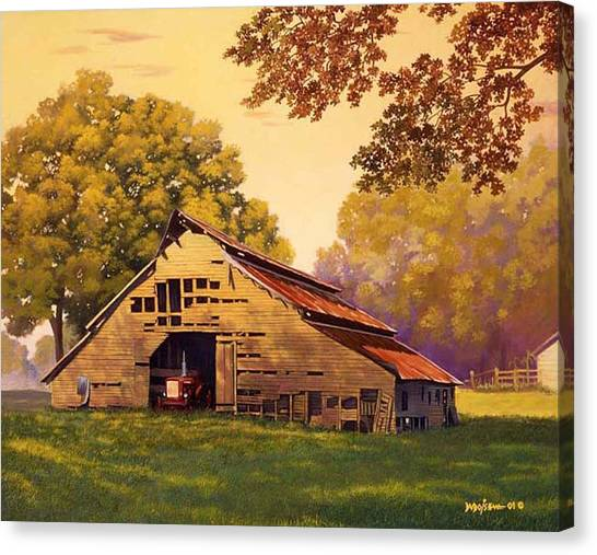 Mr. D's Barn Canvas Print