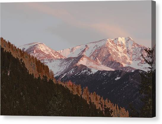 Mt Epsilon Canvas Print