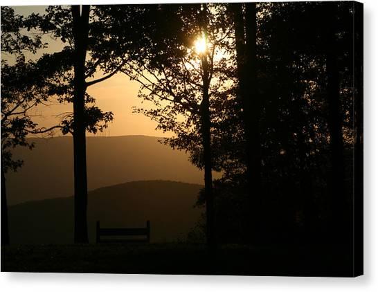 Mt Pisqah Sunset Canvas Print