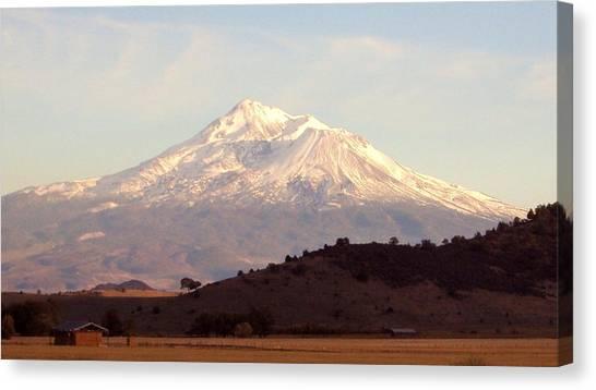 Mt. Shasta Canvas Print by Deborah Weber
