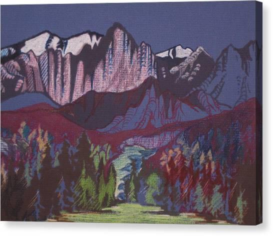 Mt Whitney Canvas Print