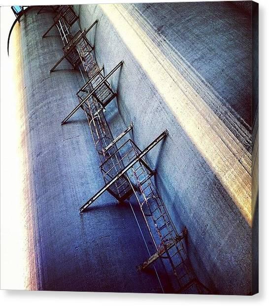 Stadiums Canvas Print - #mtl #montreal #qc #quebec by Nicolas Marois