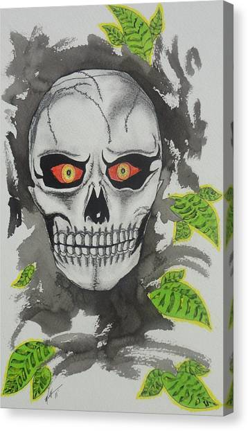 Muerte Canvas Print