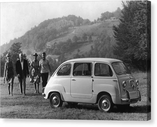 Multipla 4 Canvas Print by Archive Photos