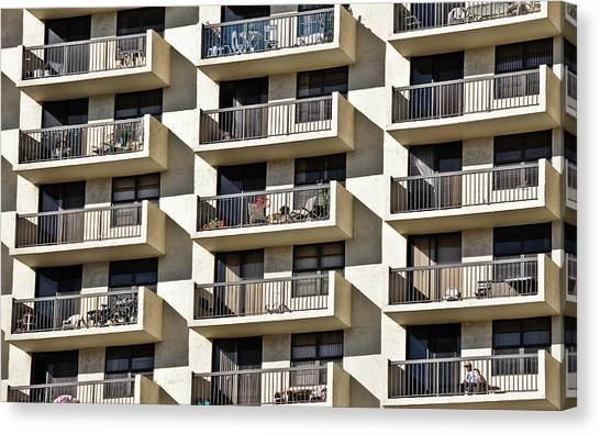 Multiple Balconies Canvas Print