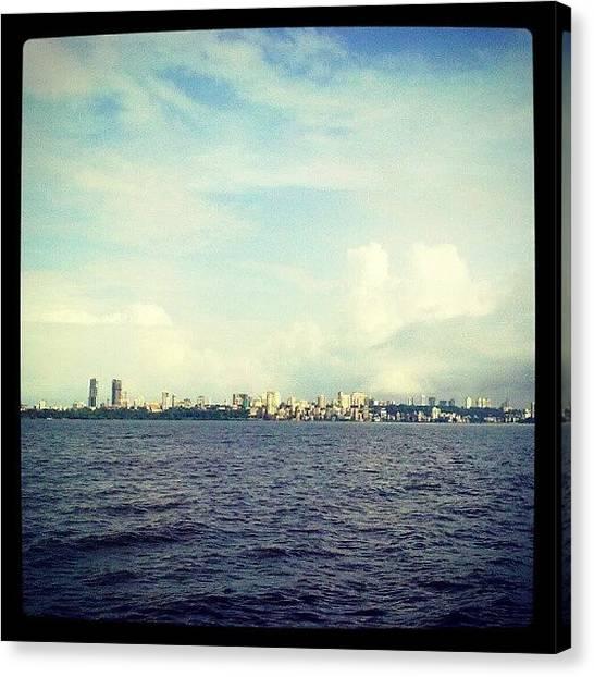 Marines Canvas Print - Mumbai Skyline by Parth Patel