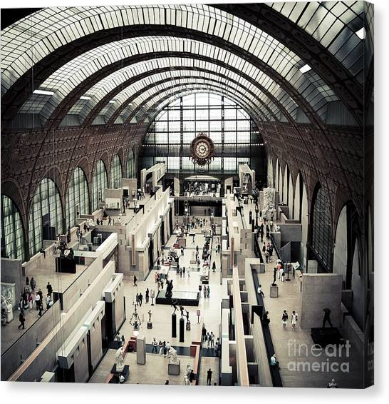 Musee D'orsay II Canvas Print