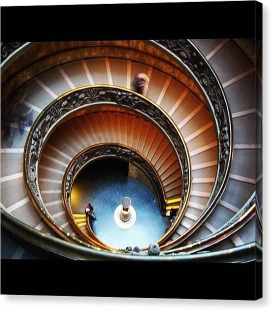 Rome Canvas Print - Musei Vaticani by Thalia Stachtea