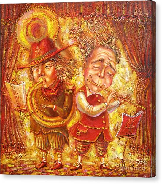 Music Holiday Canvas Print by Aleksandr Mironov