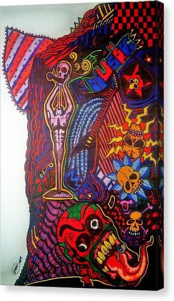 Music Canvas Print by Ragdoll Washburn