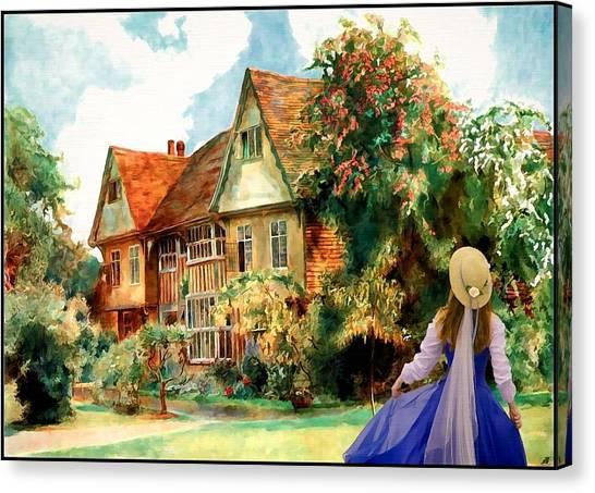 My English Country Garden Canvas Print