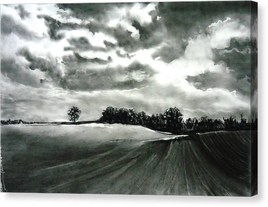 My Farm Land Canvas Print by Mickey Raina