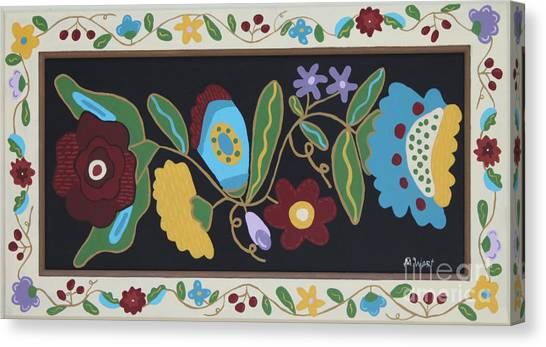 My Flower Garden Canvas Print by Marilyn West