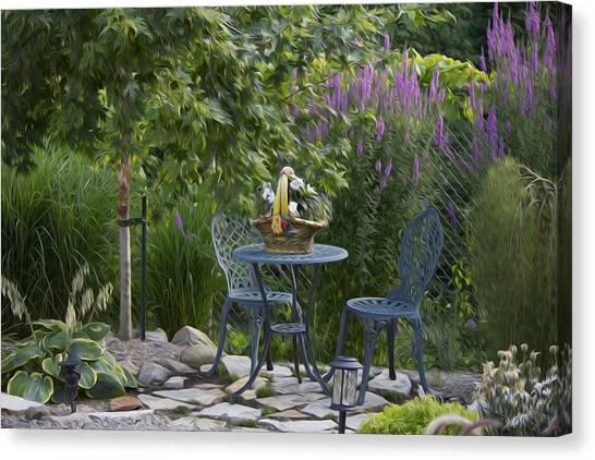 My Garden 3 Canvas Print