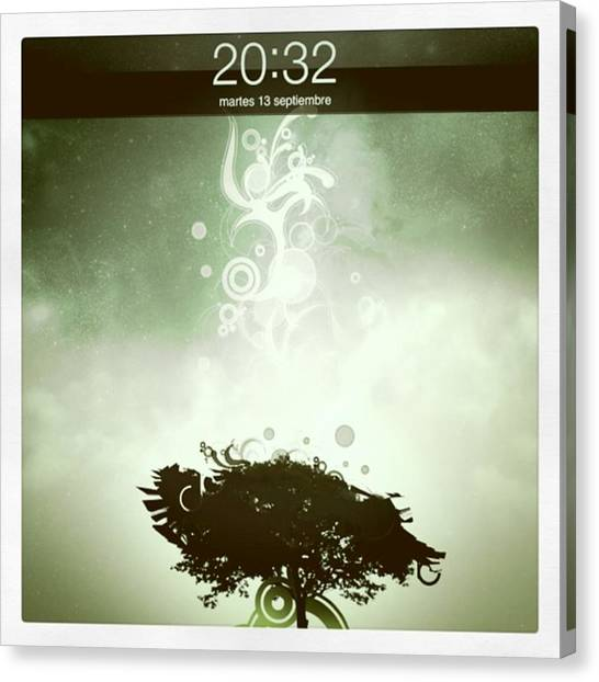 My Ipad 2 Background! :) Canvas Print by Pablo Grippo